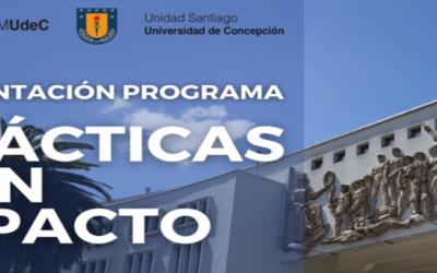 FACEA UDEC prepara a alumnos del Programa Prácticas con Impacto.