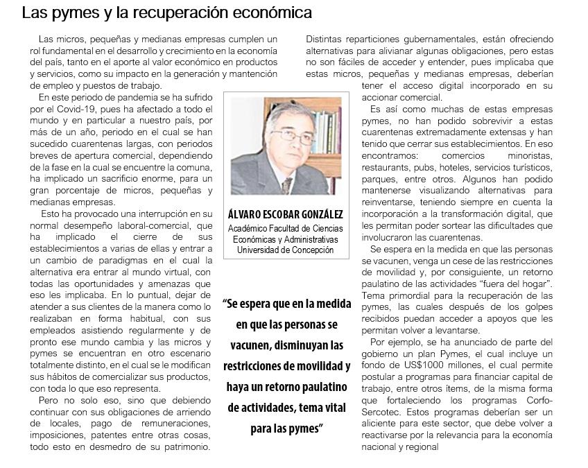 Las Pymes y la Recuperación Económica
