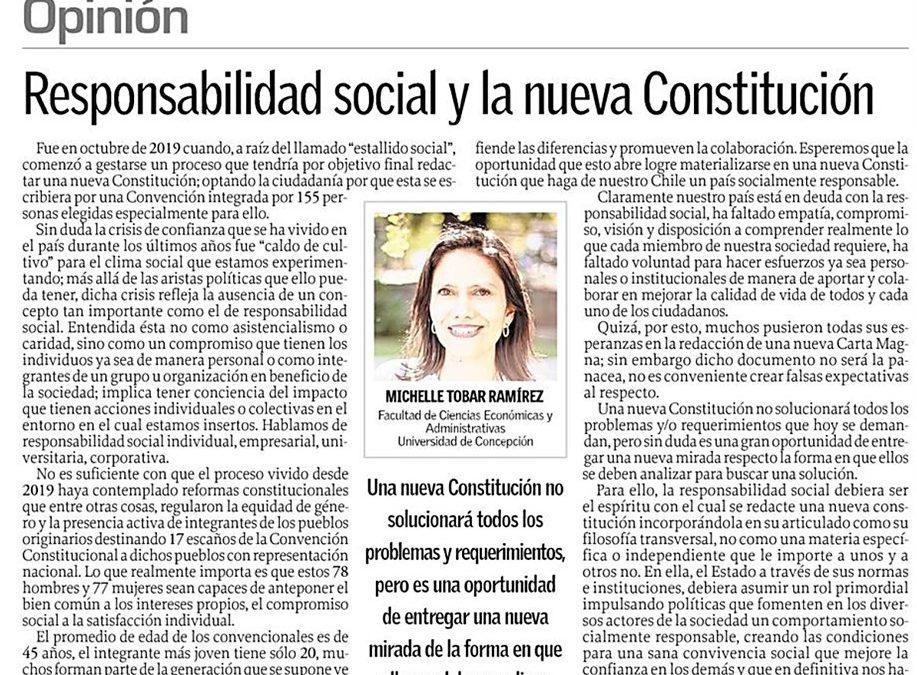 Responsabilidad social y la nueva Constitución