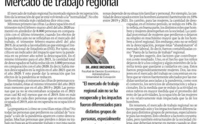 Mercado de trabajo regional