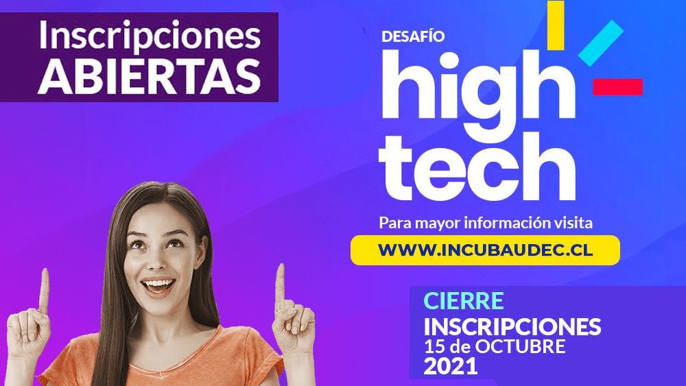 ¡Inscríbete al Desafío High Tech!